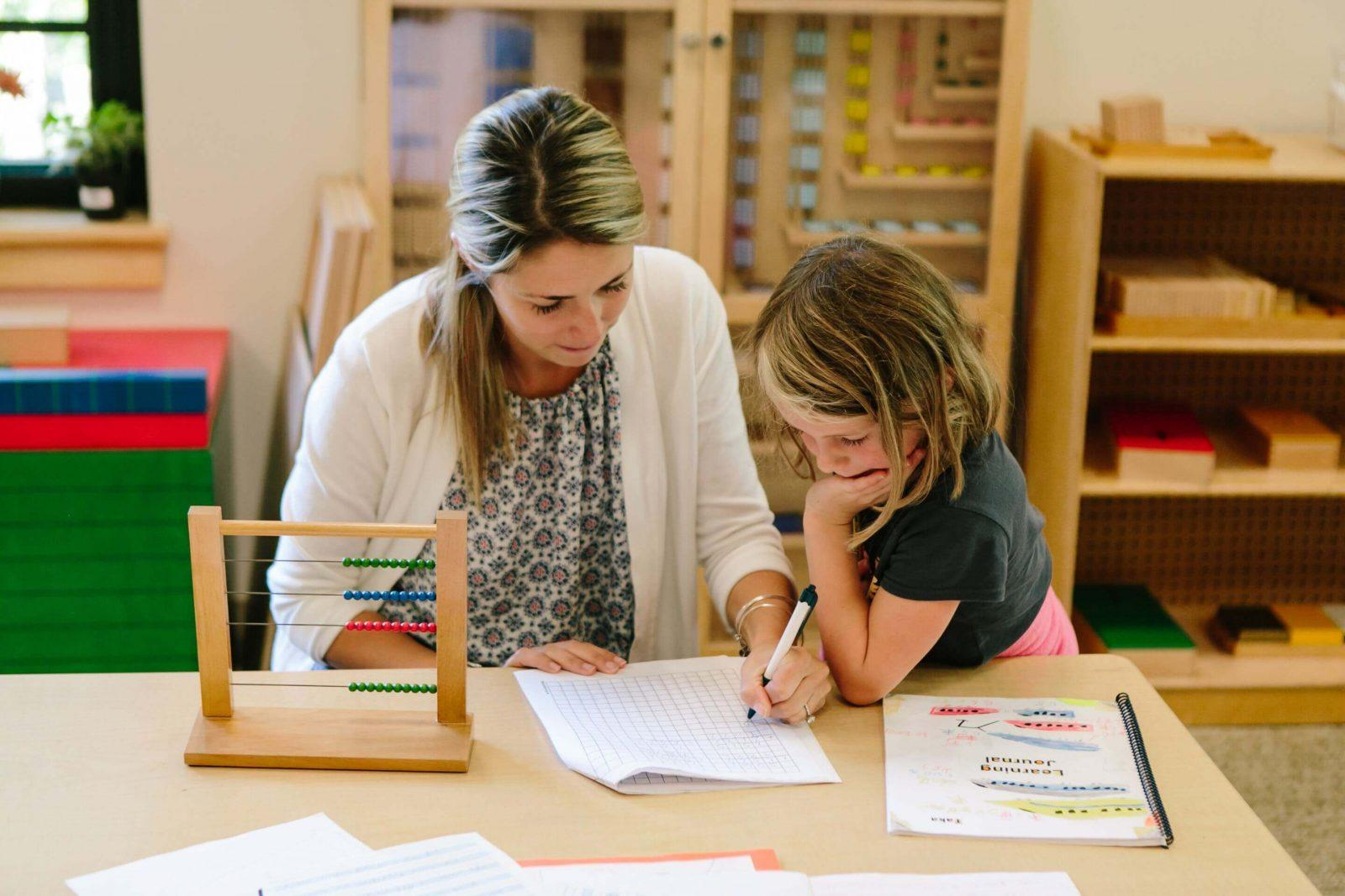 Elementary School Montessori Education Rhode Island
