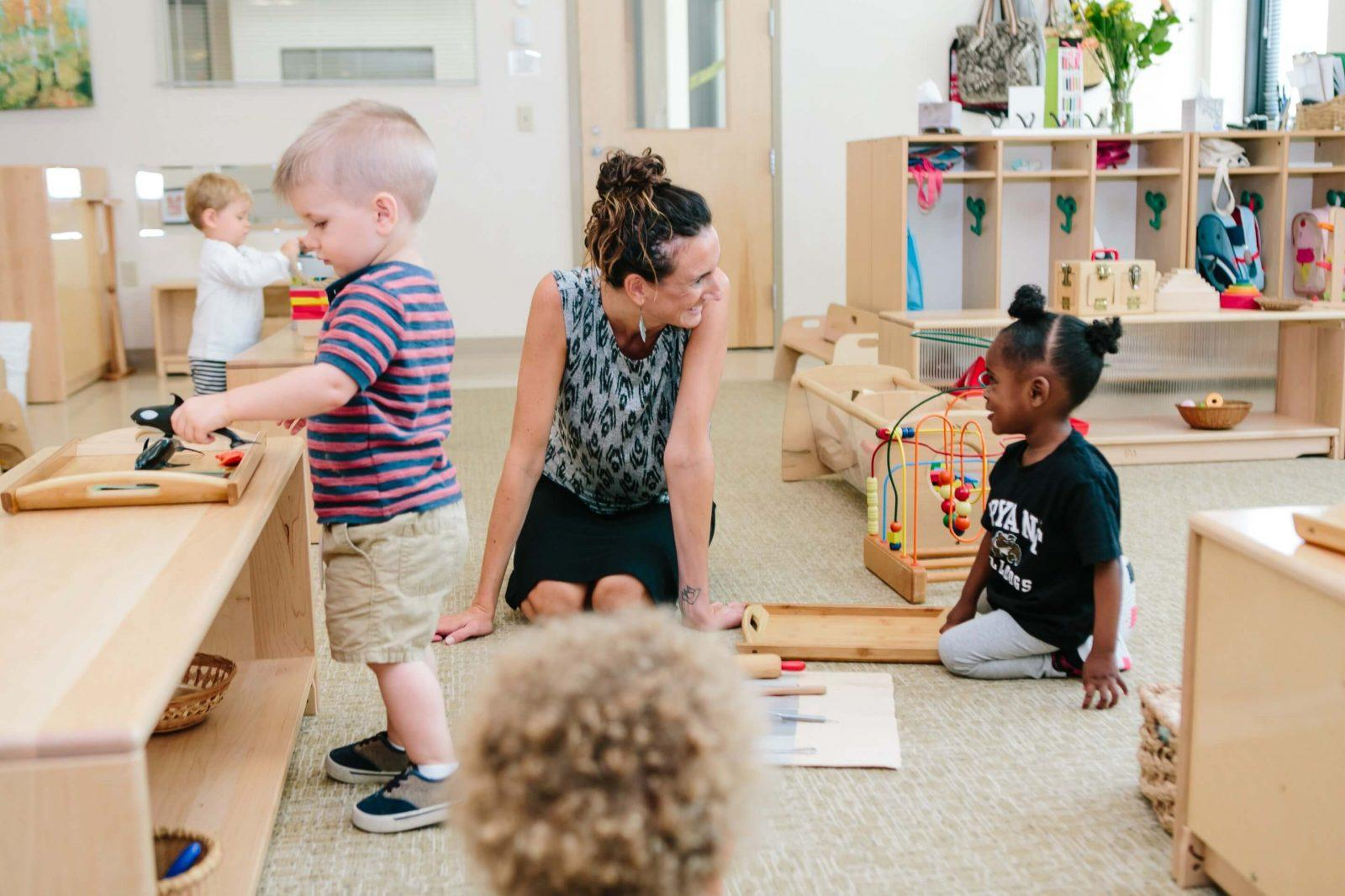 Montessori Toddler Program South County RI