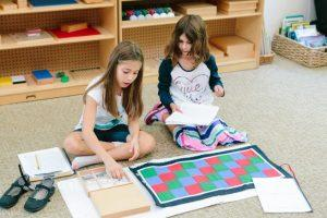 Math in Lower Elementary Montessori School Narragansett, RI