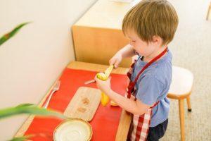 Practical Life in a Montessori Classroom - Narragansett, RI