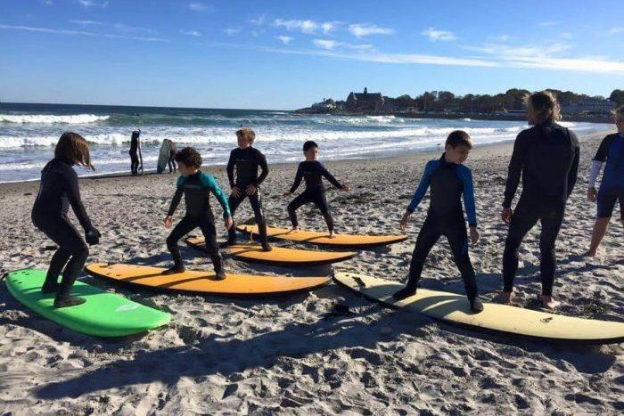 Surfing After School Program at Quest Montessori School