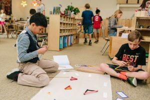 Geometry Upper Elementary - Montessori School in Rhode Island
