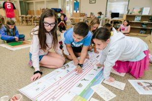 Group Study Upper Elementary - Montessori School in Rhode Island