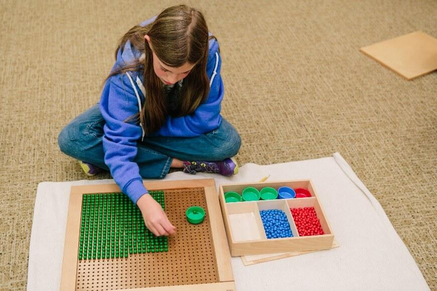 Math in Upper Elementary - Montessori School in Rhode Island