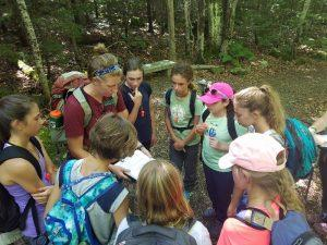 Middle School Outing to Crawford Notch