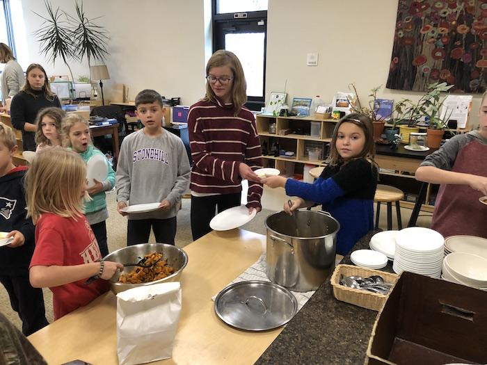 Community Meals, Not Only For Thanksgiving 9