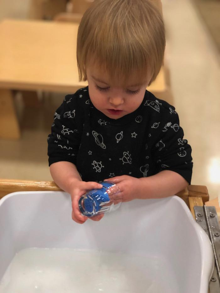 Water and the Montessori Toddler 2