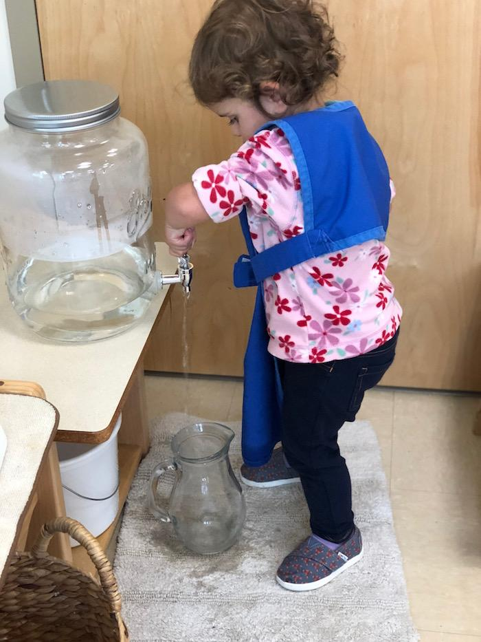 Water and the Montessori Toddler 3