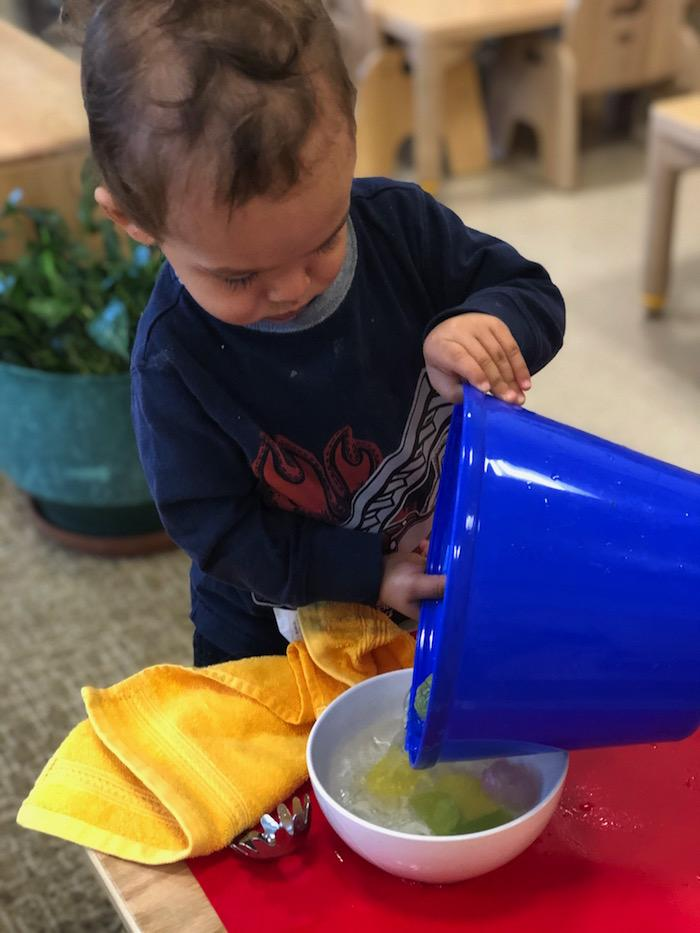 Water and the Montessori Toddler 6