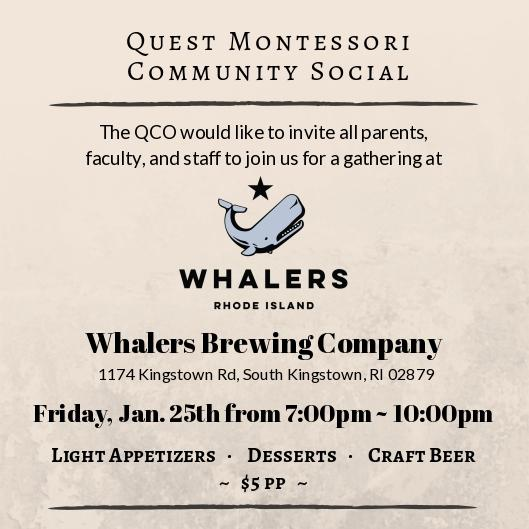QCO Winter Social at Whaler's