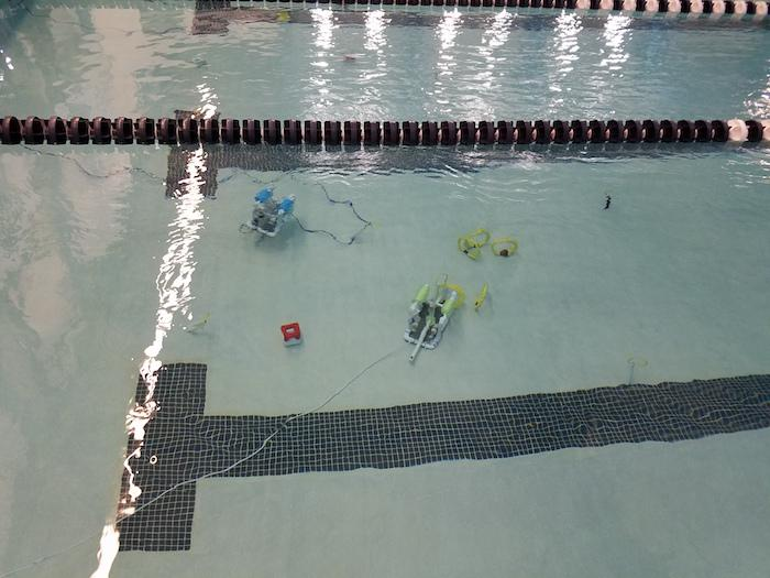 Middle School Completes ROV Testing at URI 2