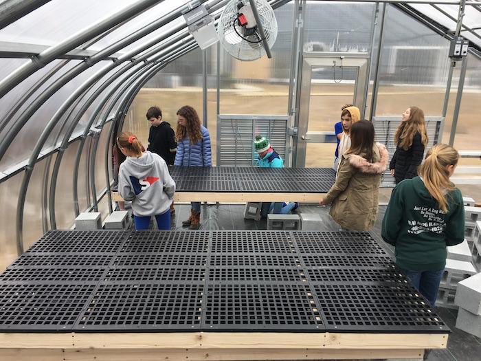 Middle School Math & Greenhouse 2