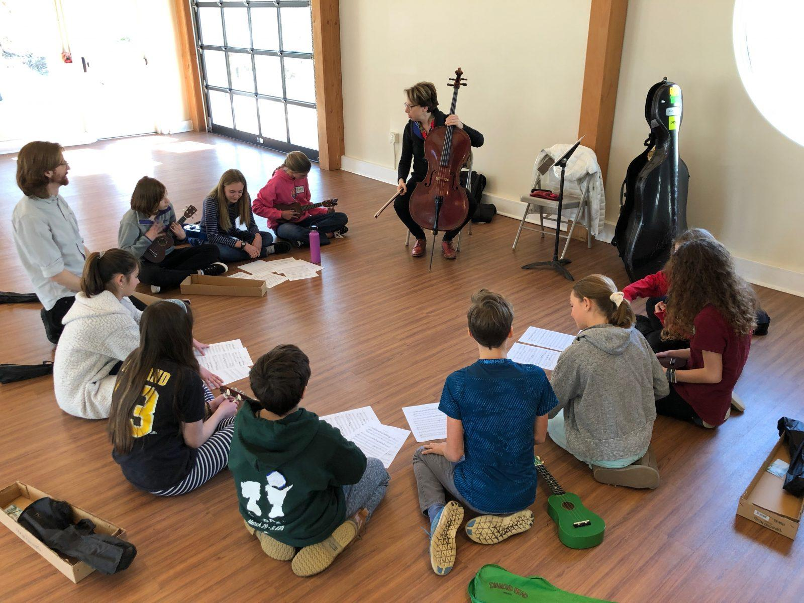 Quest Hosts Acclaimed Cellist For Student Experience 5