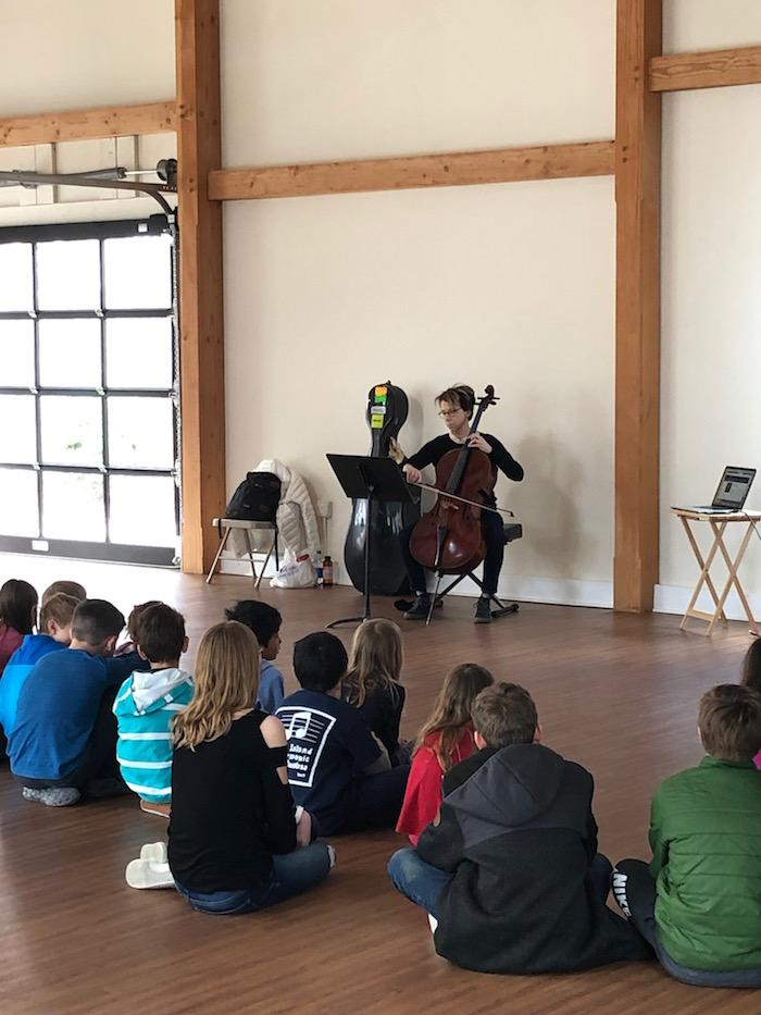 Quest Hosts Acclaimed Cellist For Student Experience 3
