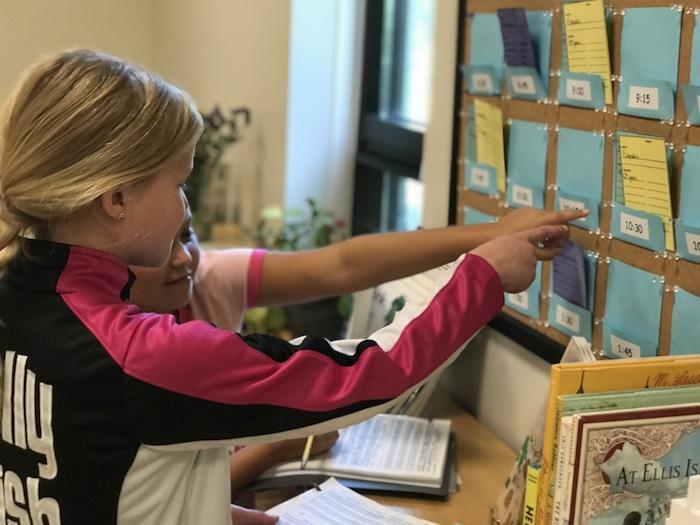 Montessori Lesson Board