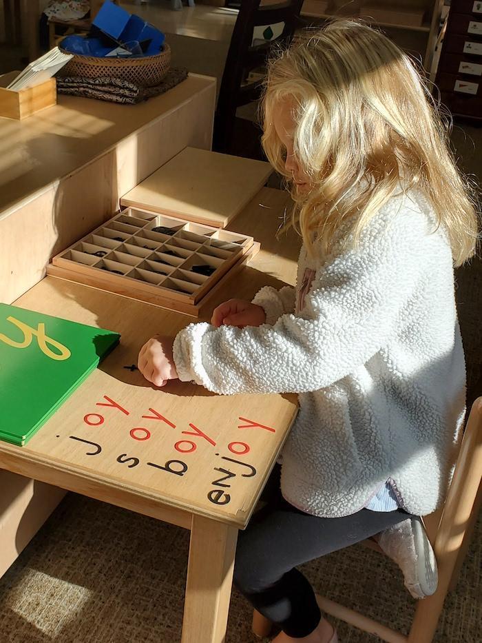 The Quest Montessori Day: Primary 37