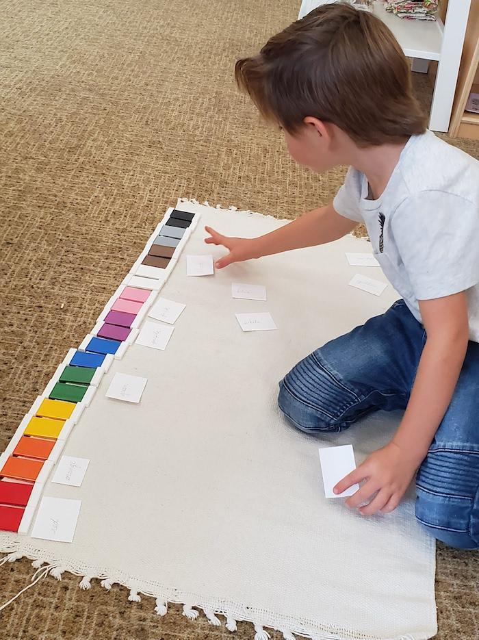 The Quest Montessori Day: Primary 41