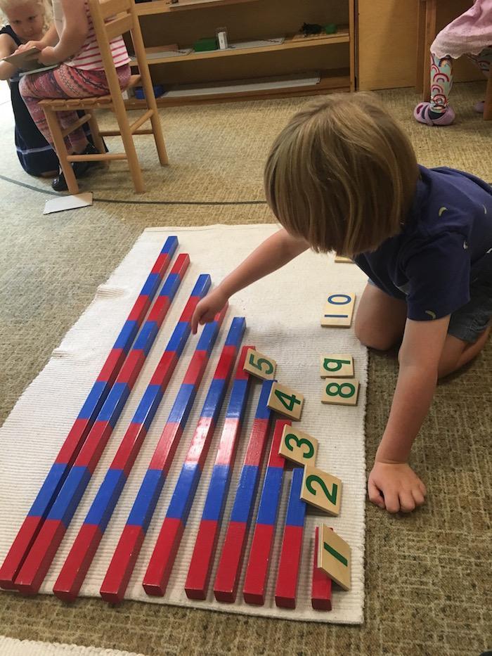 The Quest Montessori Day: Primary 8