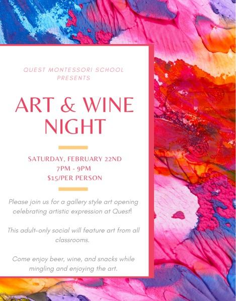 Art and Wine Event 2020