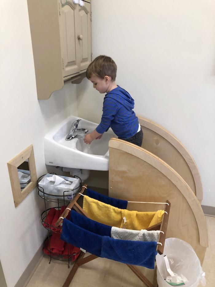 """The """"Practical Life"""" of the Montessori Toddler 8"""