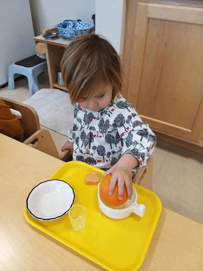 """The """"Practical Life"""" of the Montessori Toddler 1"""