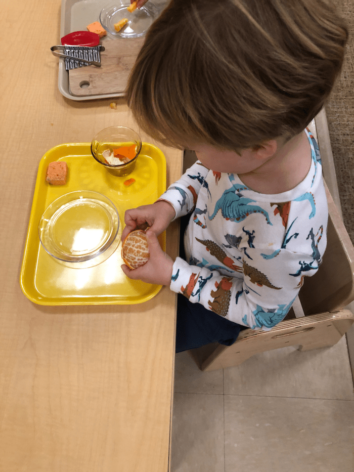 """The """"Practical Life"""" of the Montessori Toddler 2"""