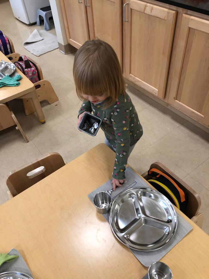 """The """"Practical Life"""" of the Montessori Toddler 6"""