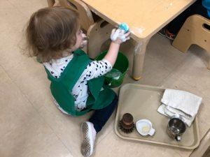 "The ""Practical Life"" of the Montessori Toddler 1"