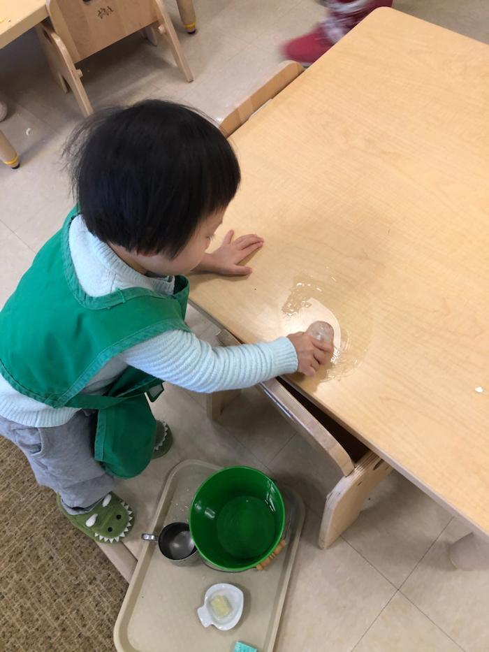 """The """"Practical Life"""" of the Montessori Toddler 7"""
