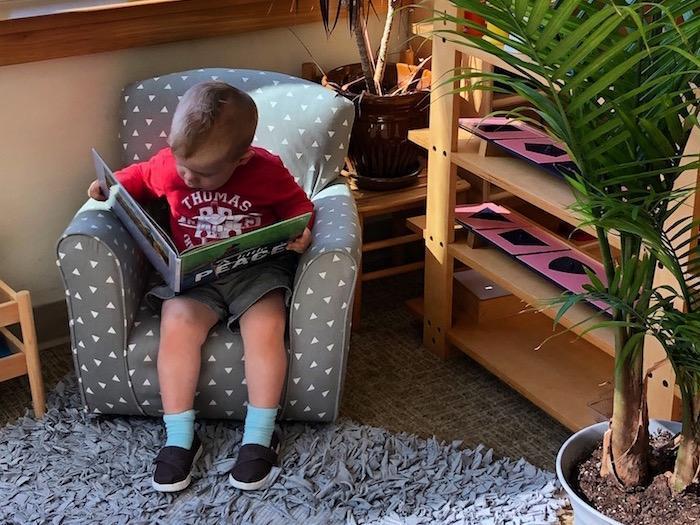 Preschool Book Corner