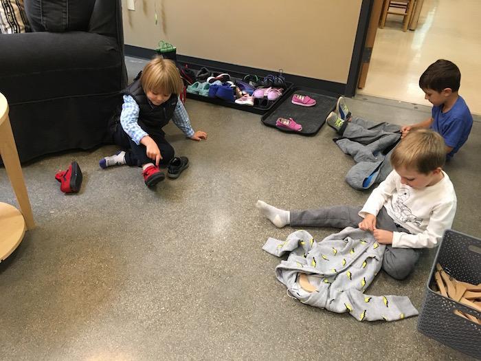 Preschool Dressing