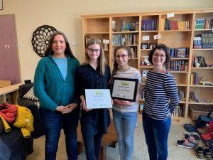 Write Rhode Island Awards Two Quest Montessori Middle School Students in Annual Writing Competition 2