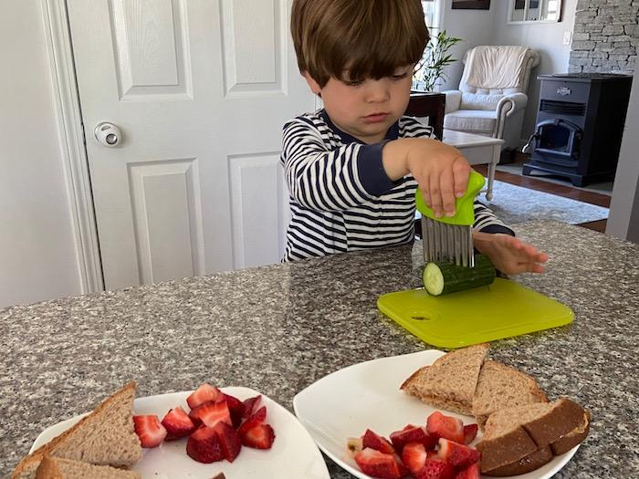 Making Space for Children in the Kitchen 1