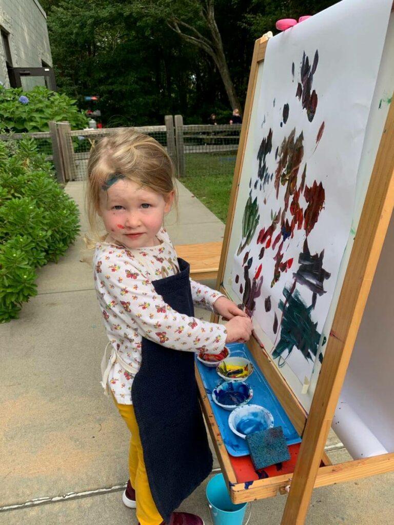 Painting Private-School-RI-Montessori