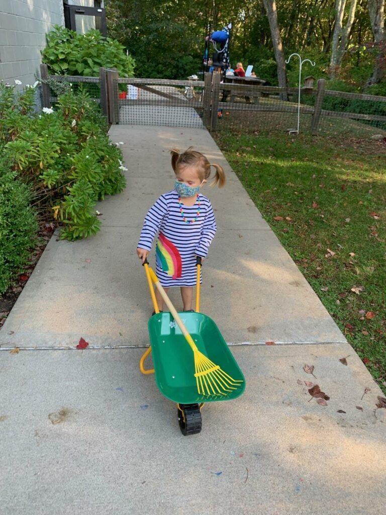 Wheelbarrow Private-School-RI-Montessori