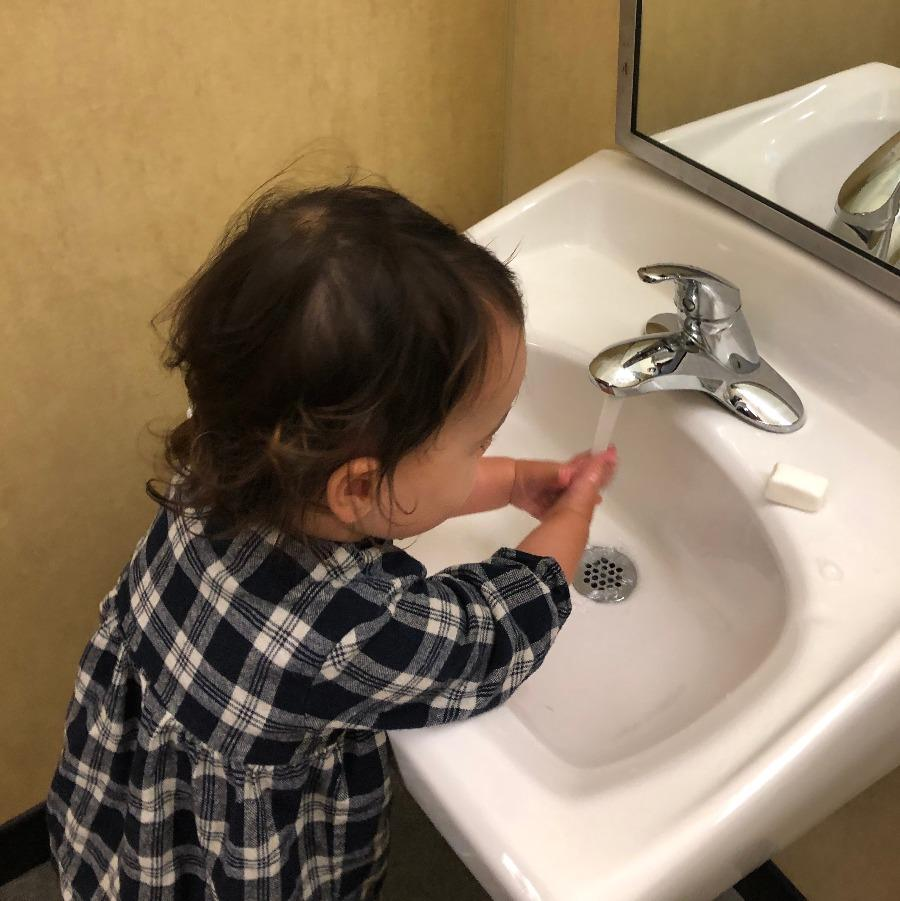 Toddler Toileting - Quest Montessori School Private School RI