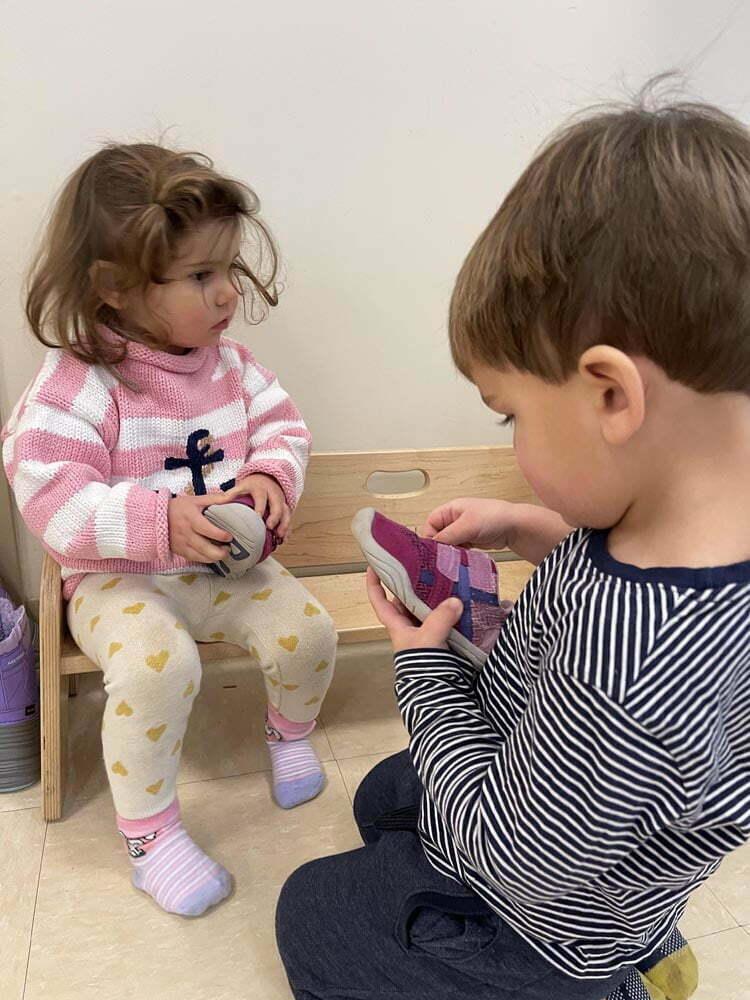 3 Mixed Age Montessori Classroom Shoe