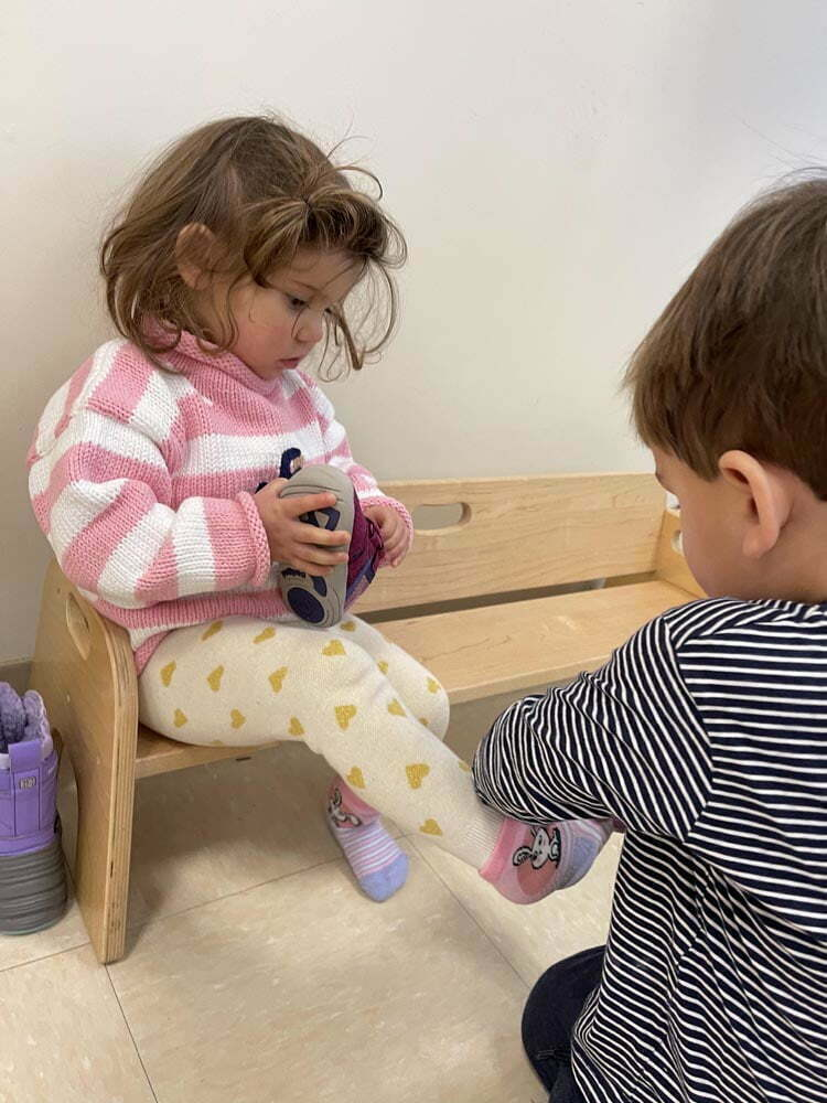 4 Mixed Age Montessori Classroom Shoe 2