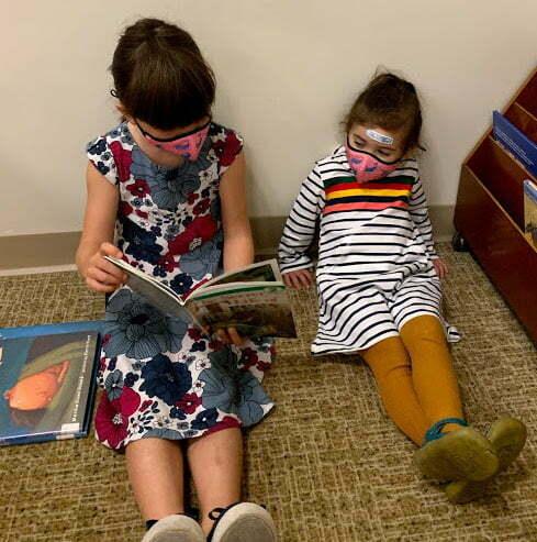 Reading Books - Caldecott Winners - Quest Montessori School